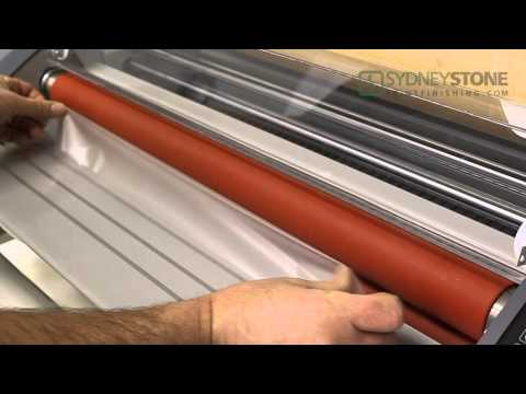 Laminating Series - Cleaning The Rollers in Your Laminator (6/6)