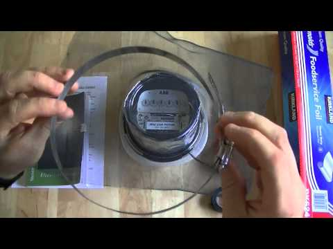 The Cheapest Way of Screening a RF Transmitting Smart AMI AMR Utility Meter