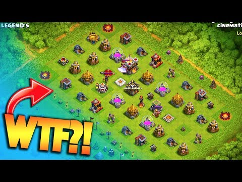 NO WALLS BASE IN LEGENDS LEAGUE? EASIEST ATTACK EVER! Clash of Clans