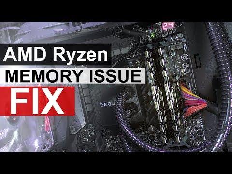 AMD Ryzen Memory Issue Fix - Tutorial