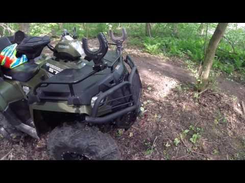 Bison front bumper review on my 2015 polaris sportsman 570