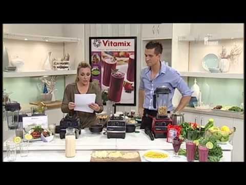 No.1 Blender Vitamix 5200 6300 7500 Make Cashew Nut Milk Demo