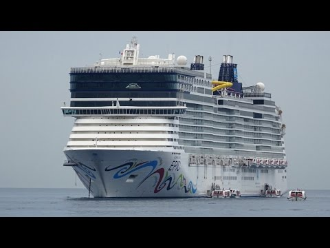 NORWEGIAN EPIC Western Mediterranean Cruise July 2016 Day 6 Cannes & Monaco