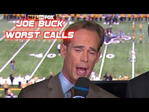 Joe Buck Worst Calls Compilation (NFL, MLB)