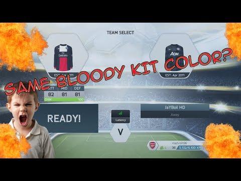 FIFA 14 - FUT - SAME BLOODY KIT COLOR?