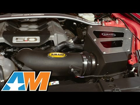 2015-2017 Mustang Airaid Cold Air Intake - SynthaFlow Oiled Filter - Red Review