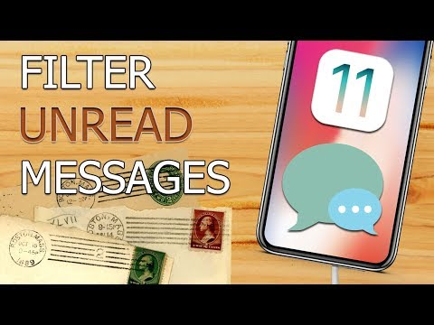 How to Filter Unread messages in iPhone Mail (iOS 11)