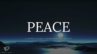 Download PEACE - 3 Hour Peaceful & Relaxing Piano Music | Meditation Music | Prayer Music | Alone With HIM Video