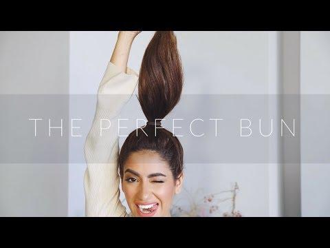 How To Get The Perfect Bun  | Sarah Angius