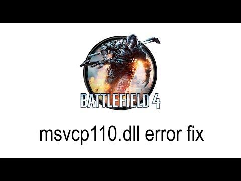 Msvcp110.dll download and fix Battlefield 4 error