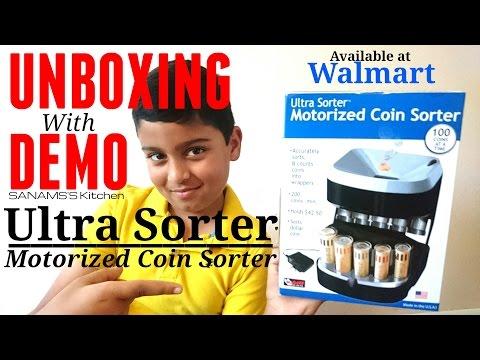 ultra sorter coin machine | Quick Demo