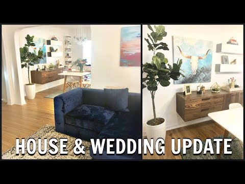 WEDDING & HOME UPDATE!! QUICK CHIT CHAT