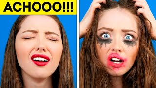 BEAUTY IS NOT PAIN 💄😂❤ || Funny Situations With Girls And Couples