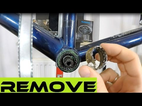 How To Remove A Stuck Bottom Bracket Cup - Some Smart Soultions. BB Removal. Bicycle