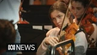 Australian Youth Orchestra performs with internationally acclaimed Courtney Lewis and Andrey Gugnin