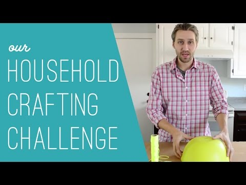 Our Household Craft Challenge