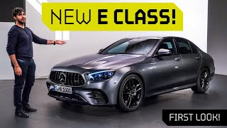 NEW 2020 AMG E53 and E Class! First Look with Mr AMG!