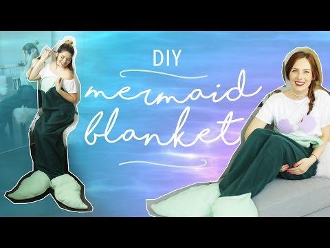 DIY MERMAID TAIL BLANKET   THE SORRY GIRLS