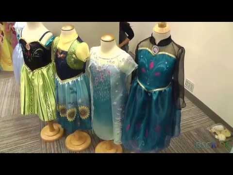 Disney's Frozen Elsa and Anna Coronation Dresses