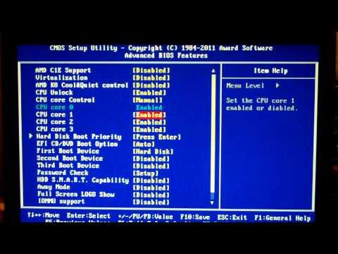 AMD Phenom II X2 555 Unlock Attempt #2