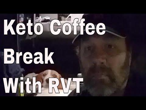 Friday Night Keto Coffee Break with Red Viking Trucker in North Carolina Mountains | RVT