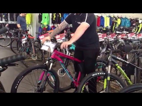 How to find the right size bike for you