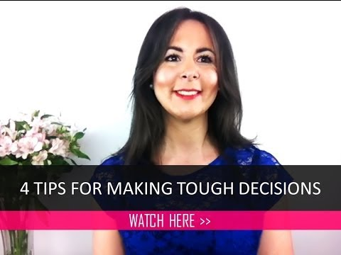 4 tips for making tough decisions easy | MarnieTV