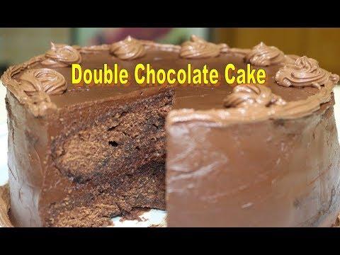 Double chocolate cake recipe | cake in microwave oven | Chocolate cake Very Tasty | coffee cake