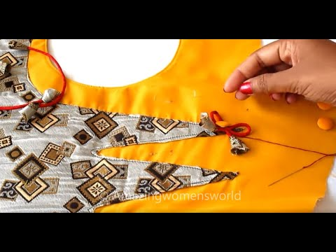 Simple Kurti / Churidar Designing for Office / Daily Wear