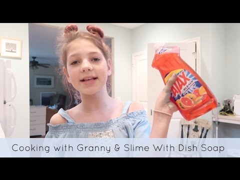 How to Make Slime without glue | Cooking with granny