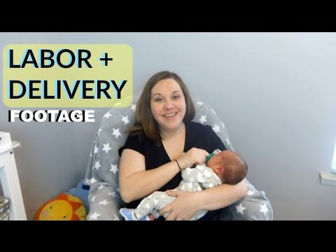 Labor & Delivery of Baby #2 | Clips and Story