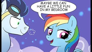 DATE NIGHT WITH RAINBOW DASH MY LITTLE PONY RIDE COMIC DUBS