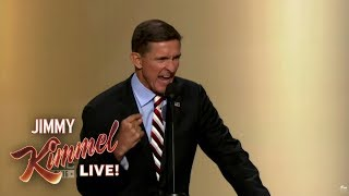 Jimmy Kimmel Explains Trump Flynn Scandal Using Star Wars