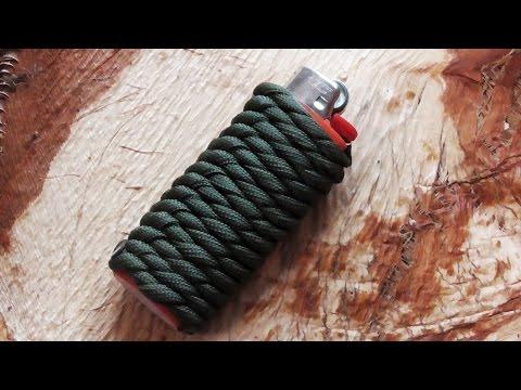 How To Do A Paracord Lighter Wrap