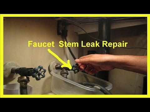 Faucet Stem Leak Repair a DIY Project