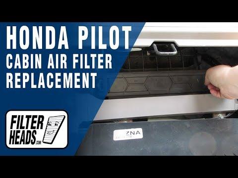 How to Replace Cabin Air Filter Honda Pilot