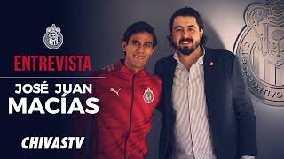 José Juan Macías regresa a Chivas | Entrevista