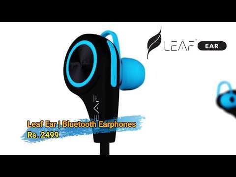 Sports Friendly Leaf Wireless Earphones Unboxing in Hindi