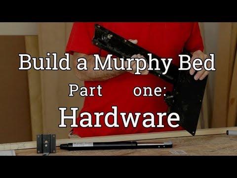 Murphy Bed Build (1) Hardware