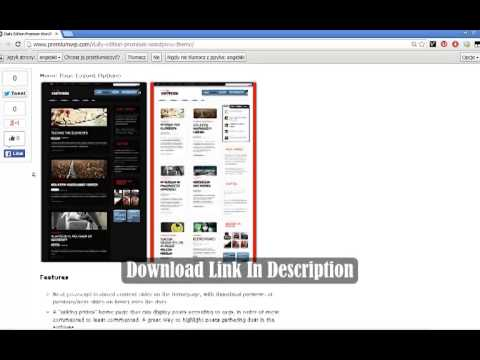 Daily Edition Premium Wordpress Theme   WooThemes Template Download