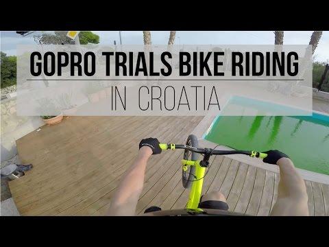 GoPro Trials Bike Riding In Croatia