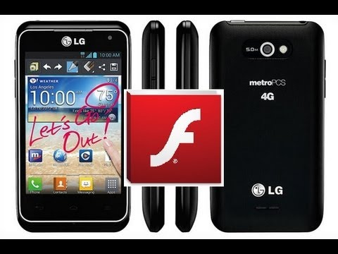 LG Motion - How to Install Adobe Flash Player on Android 4