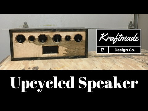 Upcycled Speaker - Kraftmade