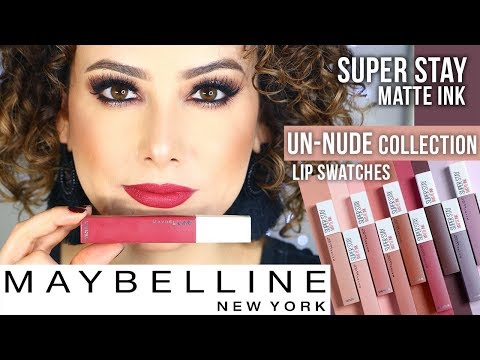 Xxx Mp4 Reseña Lip Swatches Maybelline SUPER STAY Matte Ink UN NUDE COLLECTION 3gp Sex