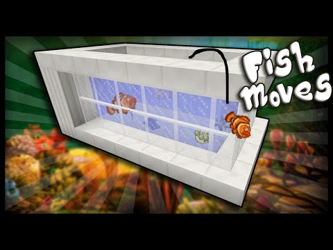 Minecraft: How to make a working aquarium