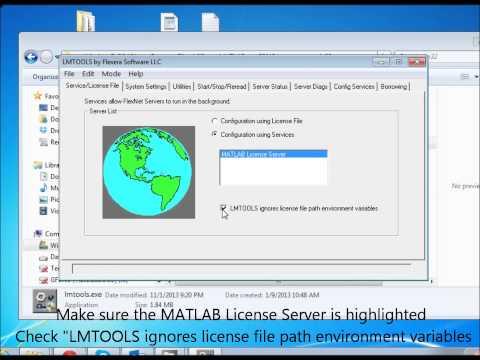 MATLAB - How to start license server?