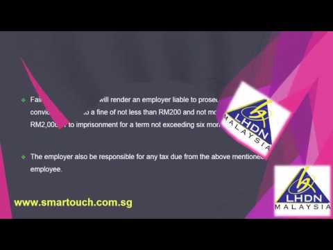 Malaysia Payroll and Tax : Employee Related Issue