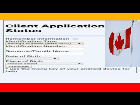 Canada Visa Status With Passport Number In Hindi/Urdu
