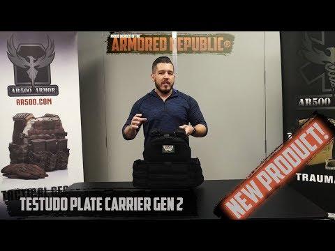 AR500 Armor® Testudo Plate Carrier Generation 2