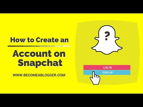 How to Create an Account in Snapchat